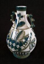 Vintage Lomonosov lfz ЛФЗ USSR porcelain hand decorated vase, 6 inches