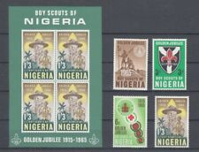 D.Nigeria 160 - 63+ Block 5 Path Finder Scouts (MNH)