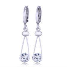 vintage 18k hoop earrings gold filled dangle drop cute womens earings lot