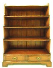 Walnut Reproduction Antique Bookcases