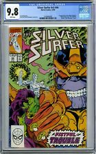 SILVER SURFER 44 CGC 9.8 FIRST APPEARANCE INFINITY GAUNTLET DRAX THANOS WHITE