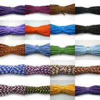 25 50 100FT 550 Paracord Parachute Cord Lanyard Mil Spec Type III 7 Strands Core