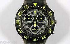 SWATCH SCUBA AQUACHRONO SBM101 original Swiss made quartz watch. New old stock
