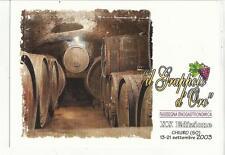 79489 IL GRAPPOLO D' ORO RASSEGNA SUL VINO CHIURO SONDRIO 2003