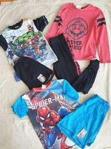 Boys pyjama bundle 9-10