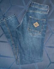 Authentic ZARA MAN Slim Fit Skinny Leg Low Rise Men's Blue Jeans Sz 30x32
