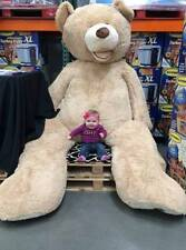 """2018 Huge Super Teddy Bear(Only Cover) Plush Toy Shell (With Zipper) 102""""/260cm"""
