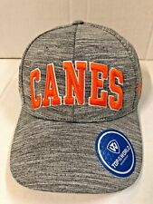 online store 264e6 0d82c NCAA TOP OF THE WORLD MIAMI HURRICANES( CANES) SO FRESH CHARCOAL MEN S HAT