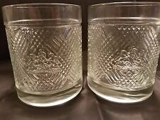 PAIR OF VINTAGE RALPH LAUREN CRYSTAL OLD FASHIONED GLASSES
