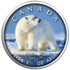 Kanada - 5 Dollar 2019 - Maple Leaf - Eisbär (1.) - 1 Oz. Silber ST