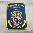 Baltimore County Maryland Bureau of Corrections Shoulder Patch