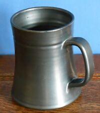 A Prinknash Abbey Pottery Tankard Mug with metallic finish