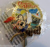 Disney Cast Member Disney Dream Makers DCL Pirate Mickey Mouse Pin