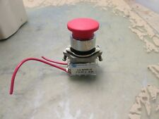 "Mafelec L22 BPMR 33 RC V push/pull switch 1"" E stop emergency [F-3]"