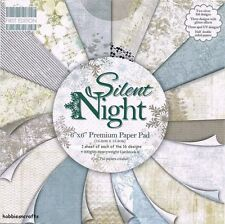 DOVECRAFT SILENT NIGHT PAPERS 6 X 6 SAMPLE PACK - NEW 1 OF EACH DESIGN 16 SHEETS