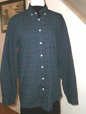 Frank & Oak Rue St-Viateur Cotton Night Blue Sky Shirt (Mille-End, Montreal)