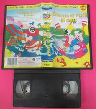 VHS film BRACCIO DI FERRO AL MARE animazione classic cartoon 199229(F175) no dvd