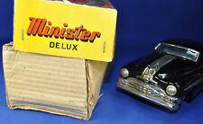 Blechauto / Tin Toy: Minister Delux Pontiac, Amar Toys, schwarz / black, OVP box