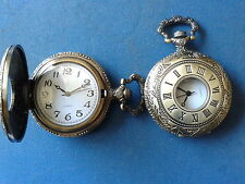 10 X POCKET WATCH NO.20 HALF HUNTER,ANTIQUE STYLE,IDEAL GIFT/COLLECTABLE