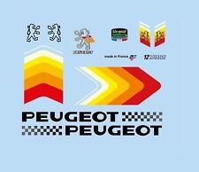 Peugeot Bicycle Decals-Transfers-Stickers #8