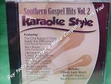 Southern Gospel Volume #2  Christian  Daywind  Karaoke Style  CD+G  Karaoke  NEW