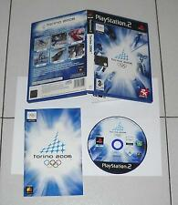 PS2 Playstation 2 Olimpiadi TORINO 2006 - ITALIANO Olympic Winter games PAL