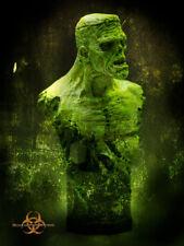 Zombiestein Bust William Paquet Unpainted Quarantine Studio Frankenstein Shelley