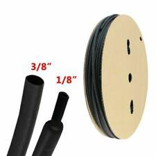 "22ft Dual Wall Adhesive Glue Lined Heat Shrink Tubing Waterproof 3/8"" Blackout"