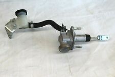 2008 INFINITI G37s COUPE #128 MANUAL CLUTCH MASTER SLAVE CYLINDER W RESERVOIR