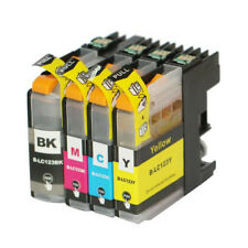 Full Set Printer ink cartridges for Brother MFC-J4410DW  J4510DW  LC123  Non-OEM