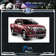 Isuzu D-Max Bull Bar Chrome Nudge A-bar 2012-2016 NEUF
