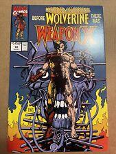 Marvel Comics Presents #72 - Weapon X Wolverine Origin 🔑 ** KEY ** 🔑 9.4