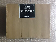 "Sonic Wings 2 Neo Geo MVS Full Kit ""Good Condition"" Arcade Game Japan"