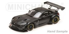 1 43 Minichamps BMW Z4 Gt3 Plain Body Matt-black