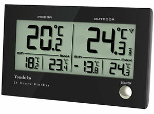 Digital Thermometer  /  Temperature Monitor Meter ( 2 in 1 ) Indoor / Outdoor