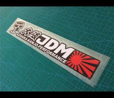 大阪 OSAKA KANJO PERFORMANCE NO GOOD RACING JDM Car decal Reflective Sticker #033