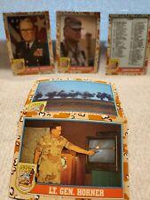 55 Desert Storm Trading Cards Topps 1991