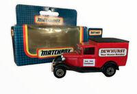 Matchbox MB38 Ford Model A Dewhurst Butchers Boxed Vtg Retro Toy Car 1987 (s