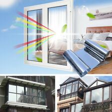 One Way 50*100cm Reflective UV Rejection Protecting Privacy Silver Window Film..