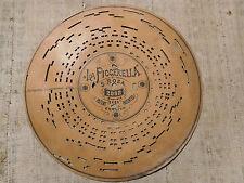 Disco di cartone per Organetto a Manovella n. 2092 La piccerella di S. Rosa