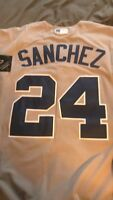 Gary Sanchez New York Yankees Majestic Jersey Mens Large