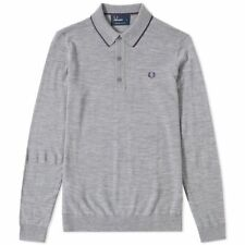 Fred Perry Merino Wool Jumpers & Cardigans for Men