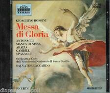 Rossini: Messa Di Gloria / Accardo, Antonacci, Araiza, Gambili, Spagnoli - CD