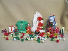 """Love Lots * Miniatures For Props Ooak Baby 5""""- 6"""" Dollhouse Gifts Ornaments Set"""
