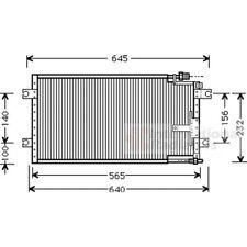 VAN WEZEL Original Kondensator, Klimaanlage 27005109 Mazda Mx-5 I