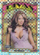 MELINA PEREZ  ( Rare! *X-FRACTOR* )  2007 Topps WWE CHROME Diva CARD #69