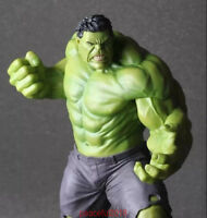 "Rare Marvel Avengers:Age of Ultron Hulk Hot Action Statue Figure Toys 10"" + Gift"