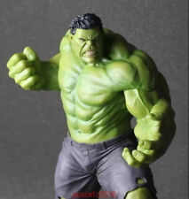 """Rare Marvel Avengers:Age of Ultron Hulk Hot Action Statue Figure Toys 10"""" + Gift"""