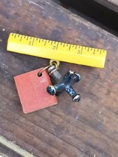 Vintage Celluloid Brooch Pin TEACHER GIFT Ruler Jack Book Costume Jewellery