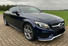 Mercedes Benz C180 Cabrio 9G-TRONIC AMG Line Cavansit Blau